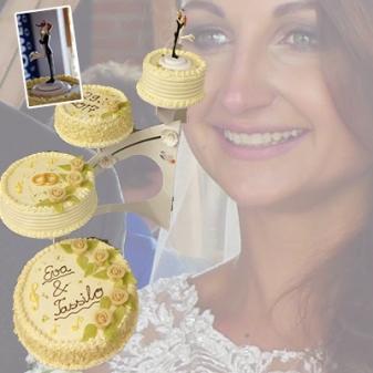 Hochzeitstorte für Eva Luginger & Tassilo Joch