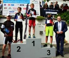 Siegerehrung Kinderteam Radkriterium Velden 2018